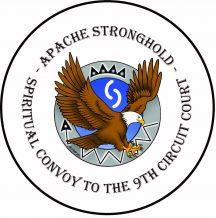 Apache Spiritual Convoy Round Sticker and Button 2021